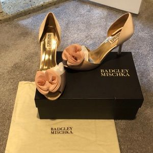 Bartley Mischa Satin Pumps